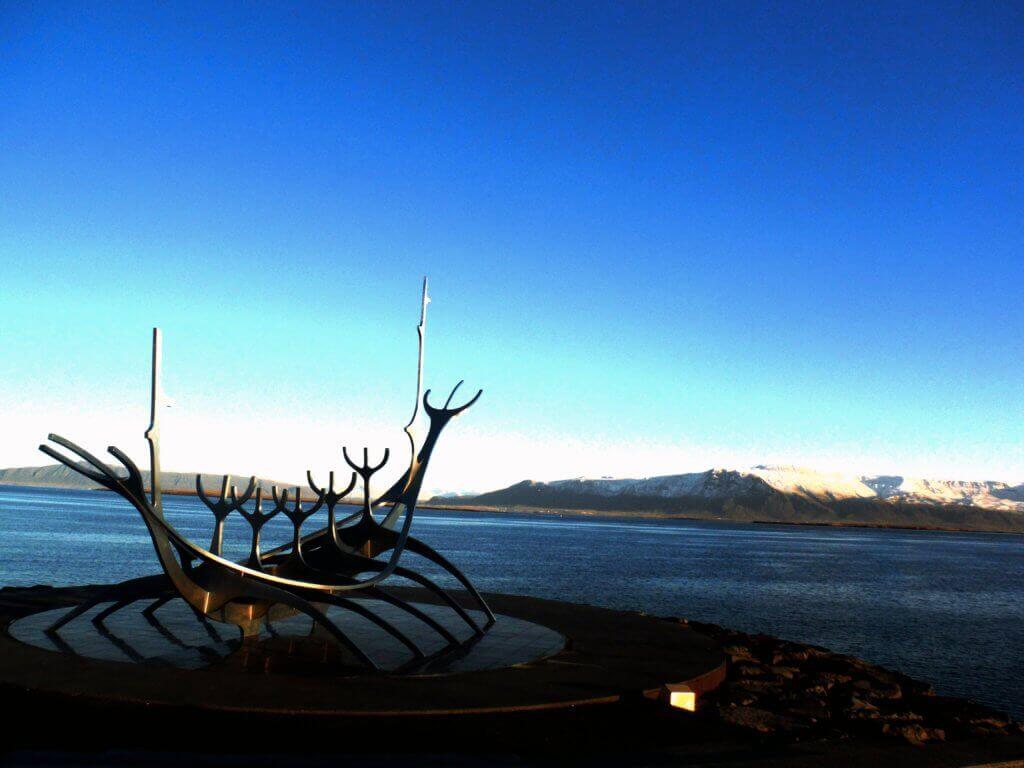 Viking Ship in Reykjavik