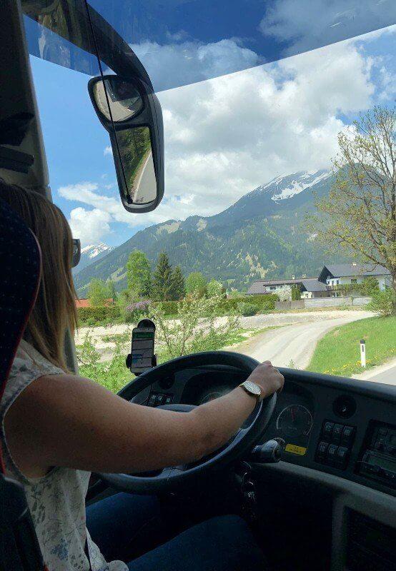Contiki Female Coach Driver
