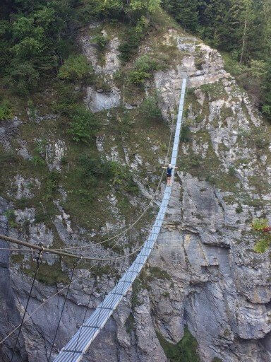 Via Ferrata Swiss Alps
