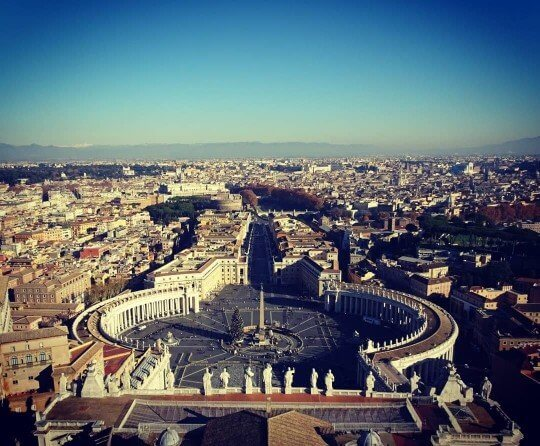 Vatican view Rome