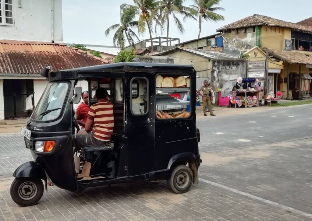 Bread Tuk Tuk in Galle Sri Lanka