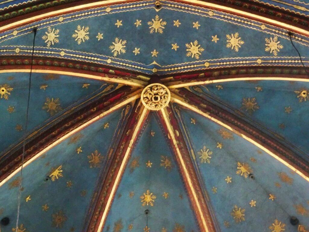Snowflake Frescoe Krakow Church
