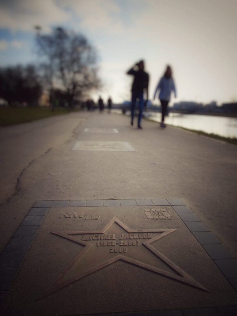 Walk of fame Krakow