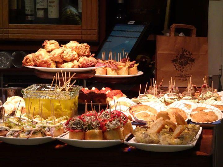 Best Pintxos San Sebastian Spain Tapas