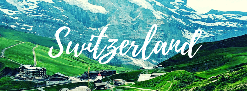 Lost Wanders Map of Switzerland