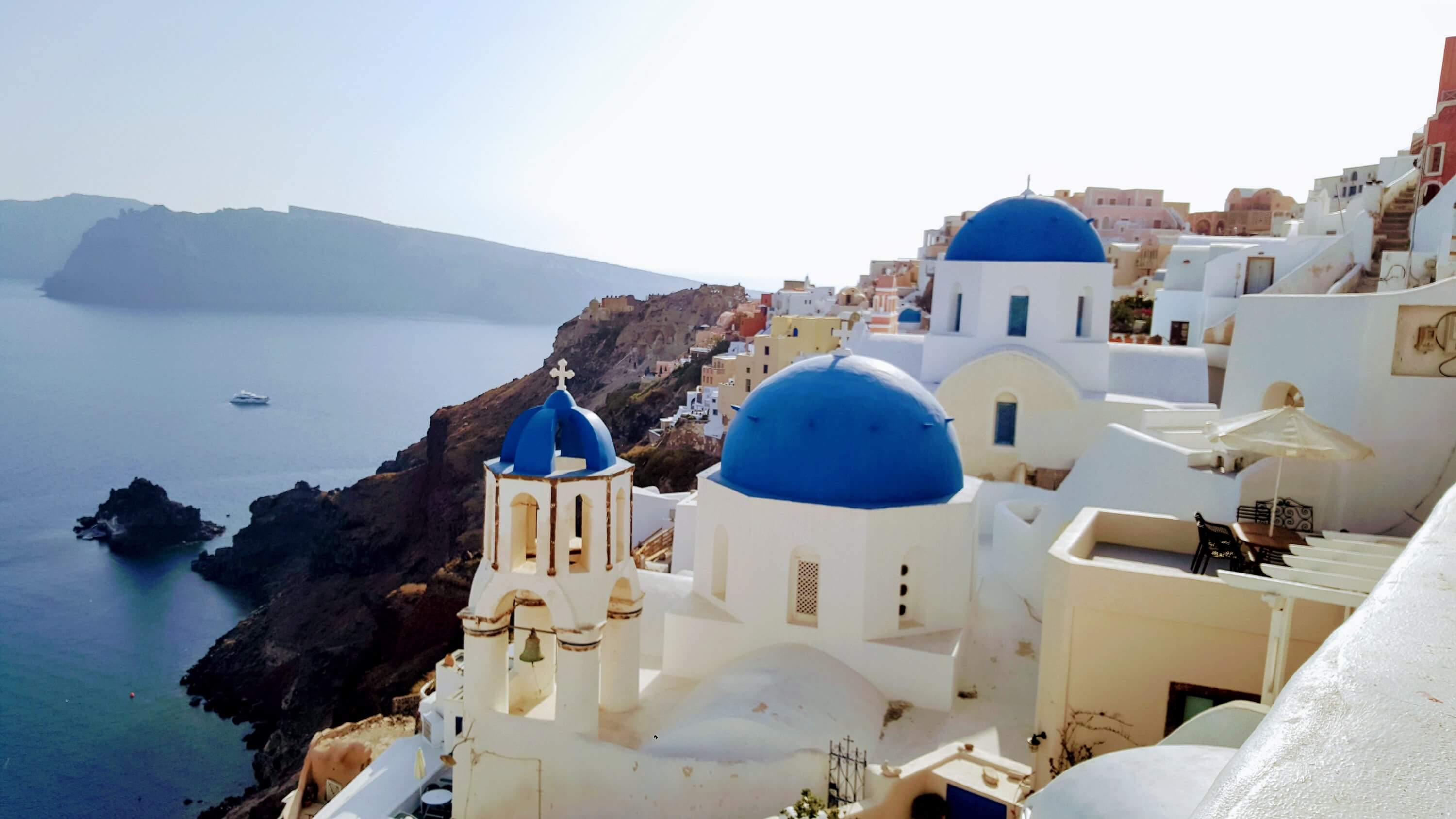Best travel apps for Europe Santorini View Oia