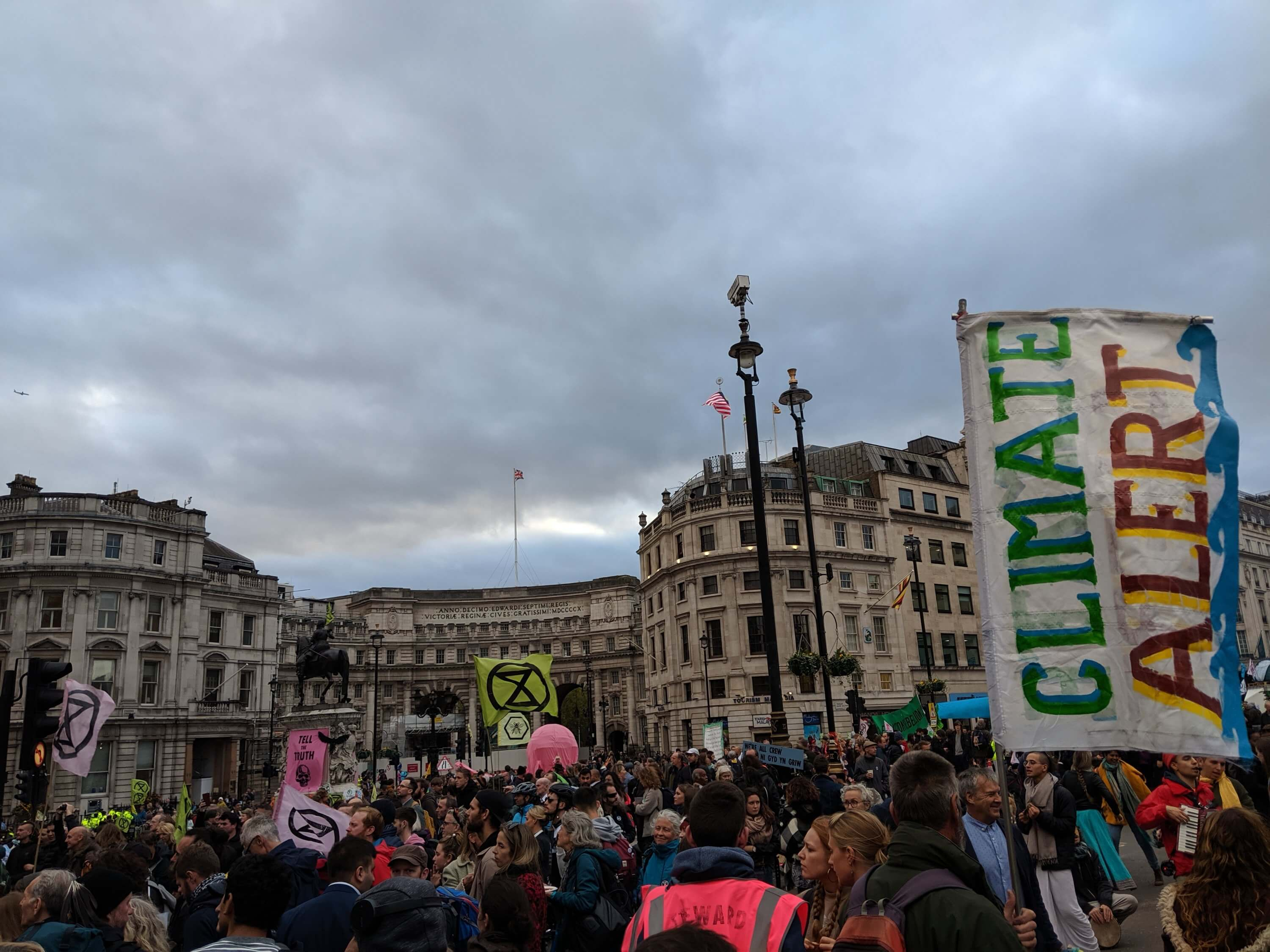Extinction Rebellion Protests London 2019
