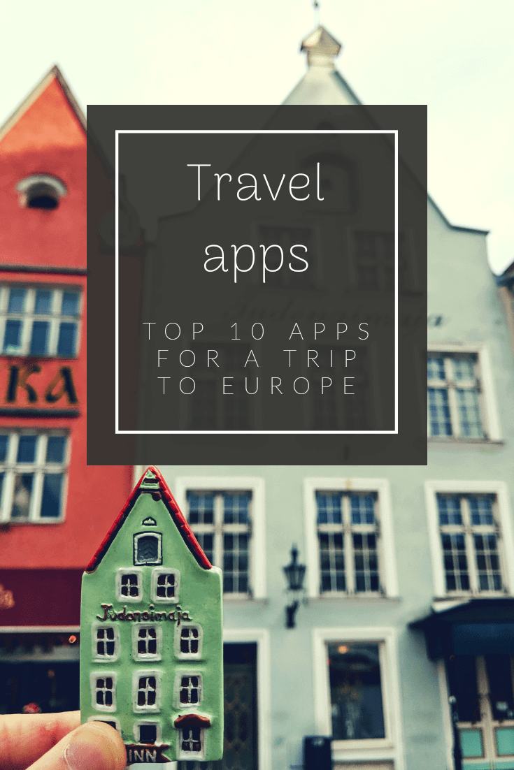 Top 10 Travel Apps Europe