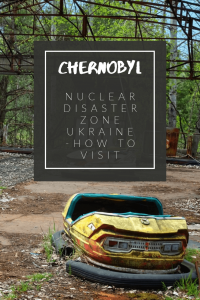Chernobyl nuclear disaster zone