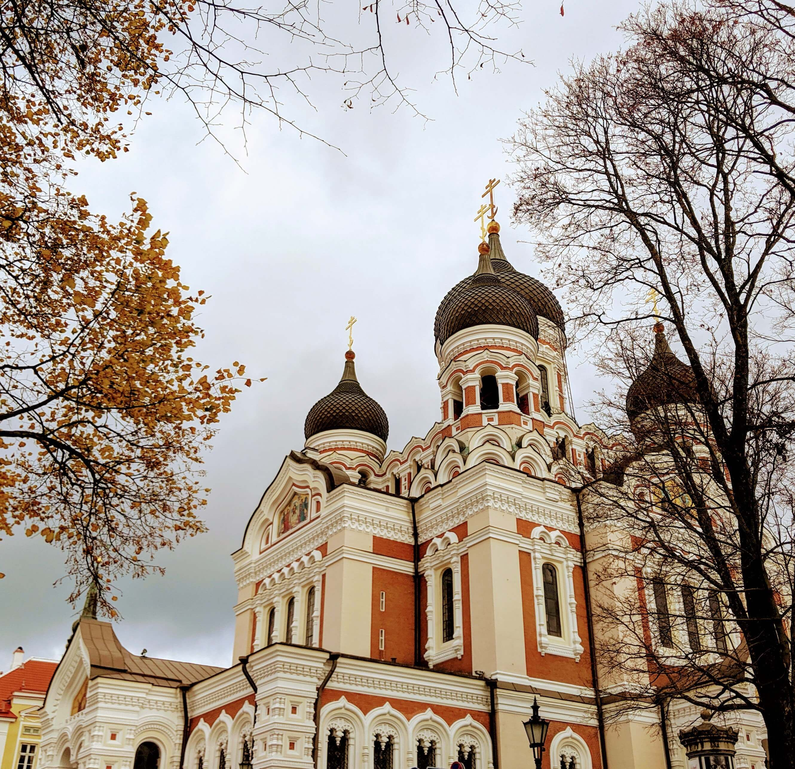 Baltic road trip Tallinn Nevsky Cathedral