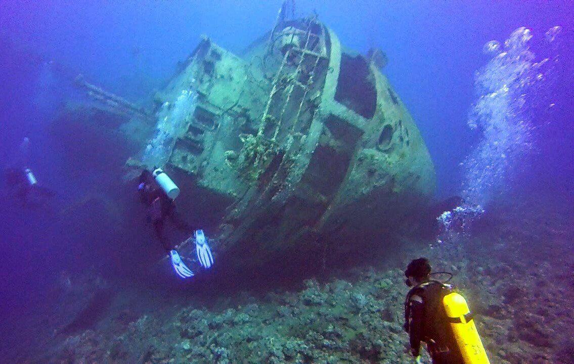 Aqaba wreck dive