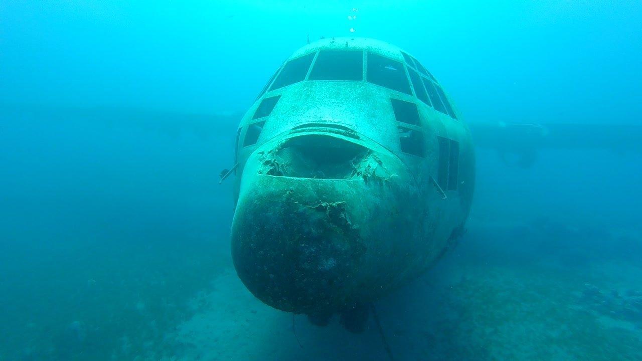 Plane wreck Aqaba