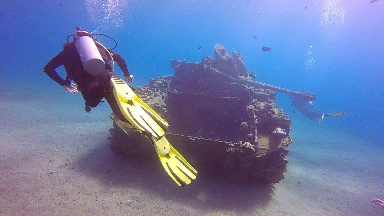 Aqaba diving tank