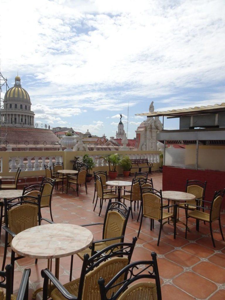 Hotel Inglaterra View Havana Classic Cuba Backpacker Budget