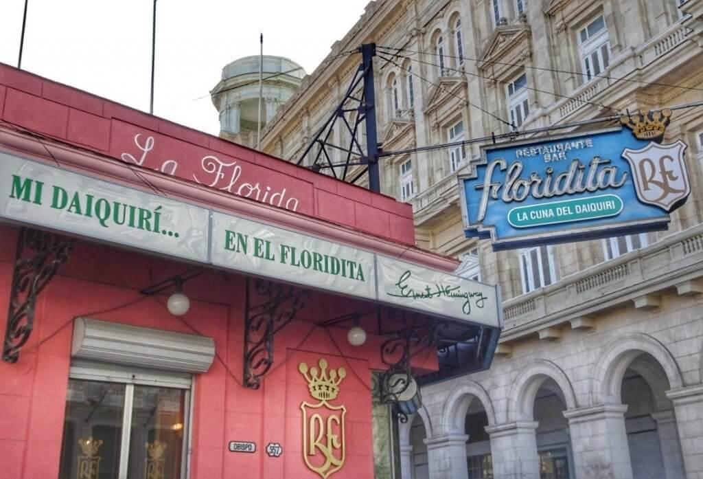 La Floridita Bar Daquiri Havana Cuba