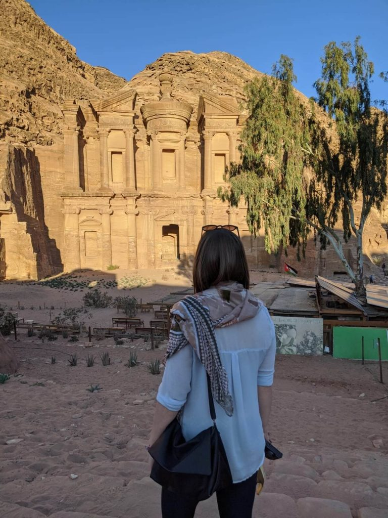 pictures of the lost city of Petra