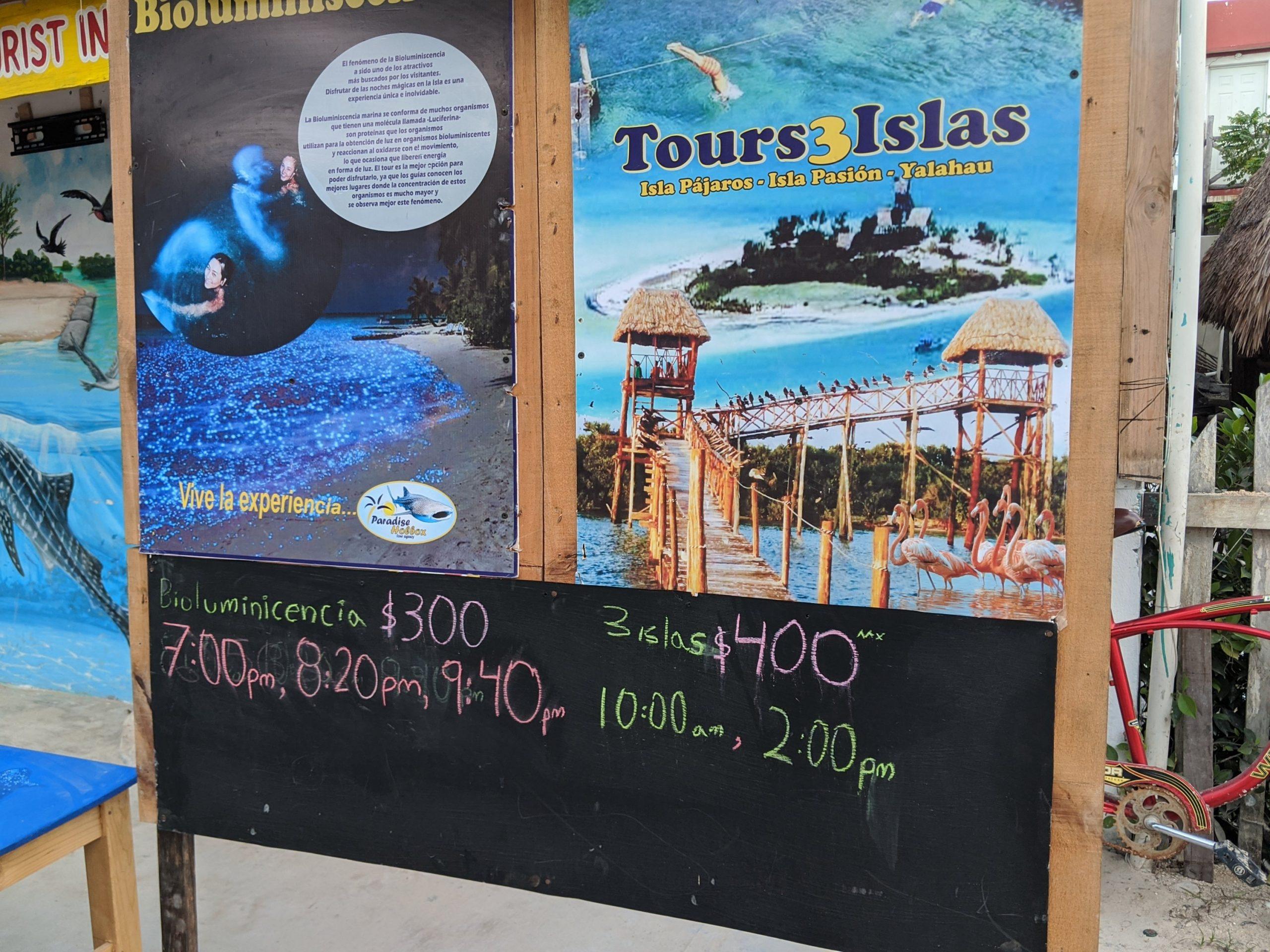 Holbox Tres Islas Tours Mexico