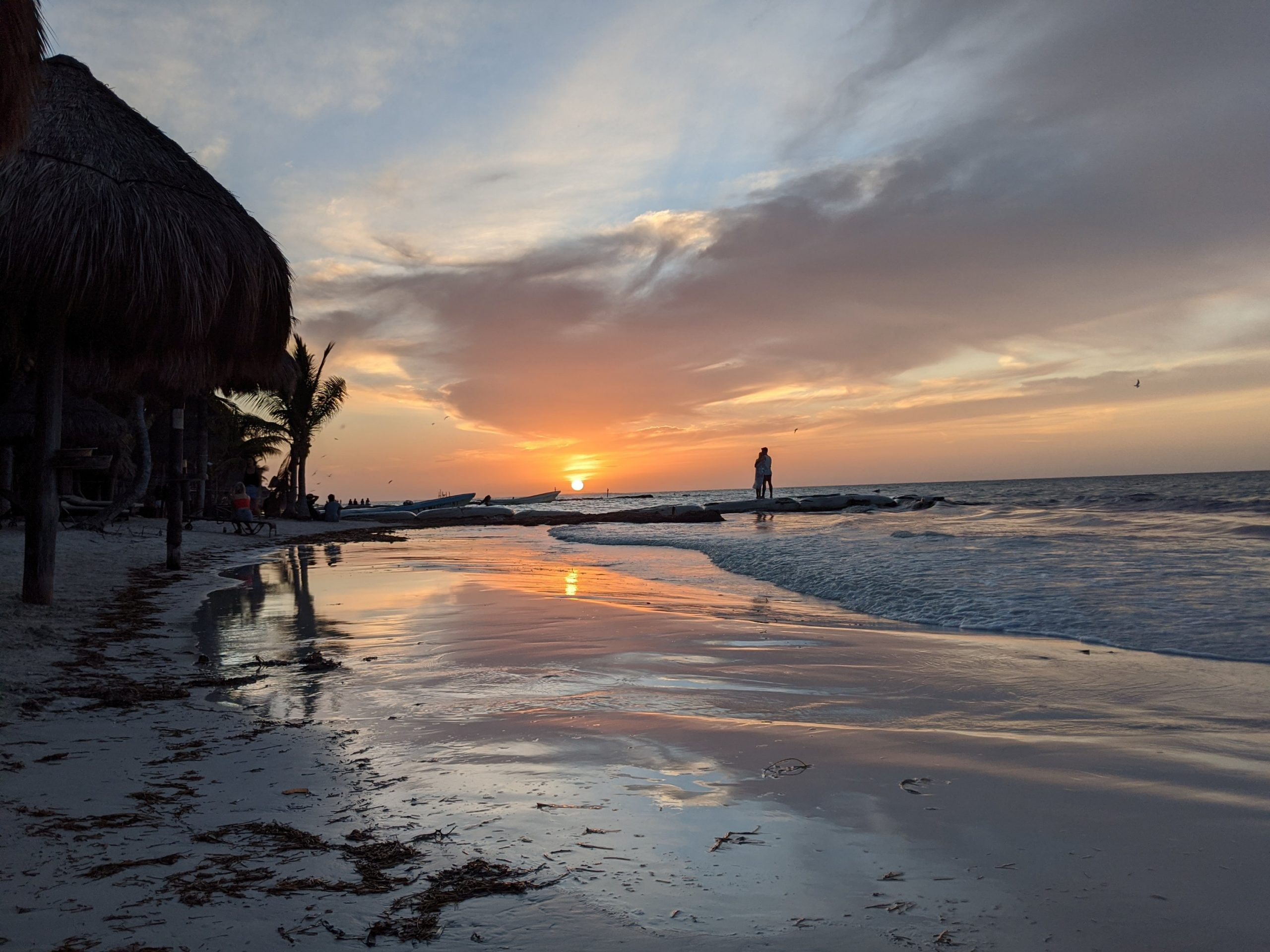 Holbox Island Mexico Sunset
