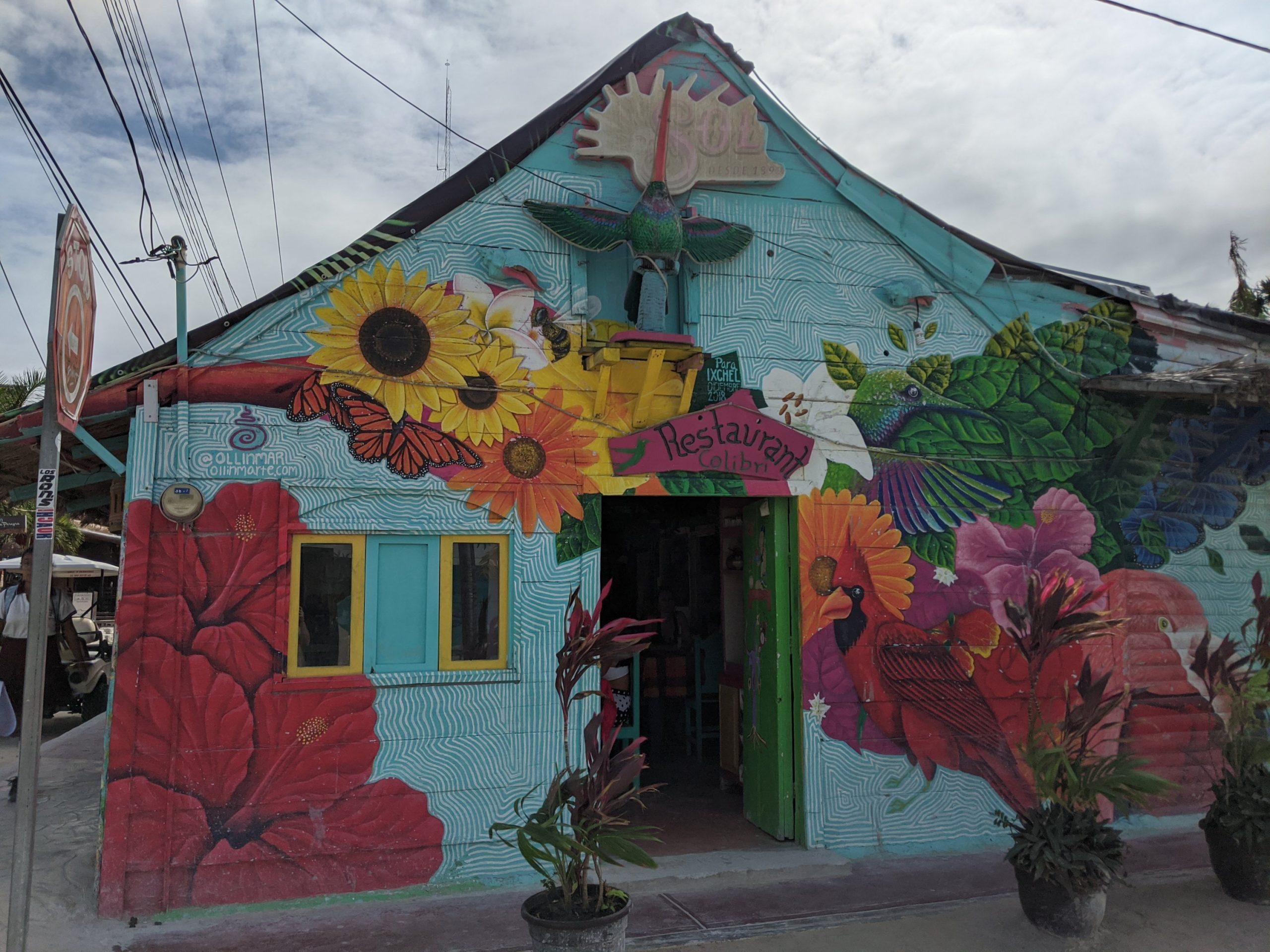 Holbox Street Art Mexico