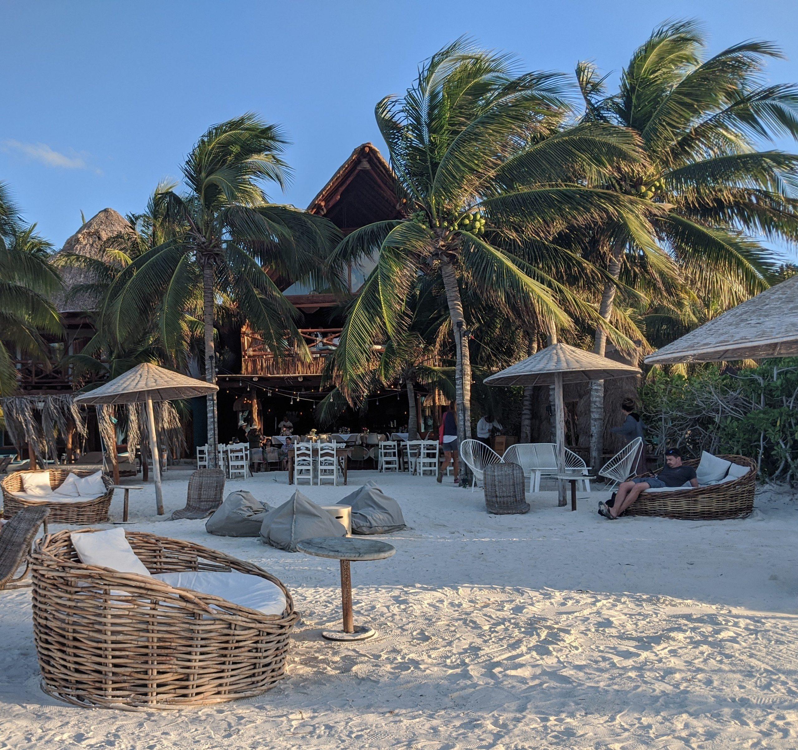 Holbox beach Island Mexico Yucatan