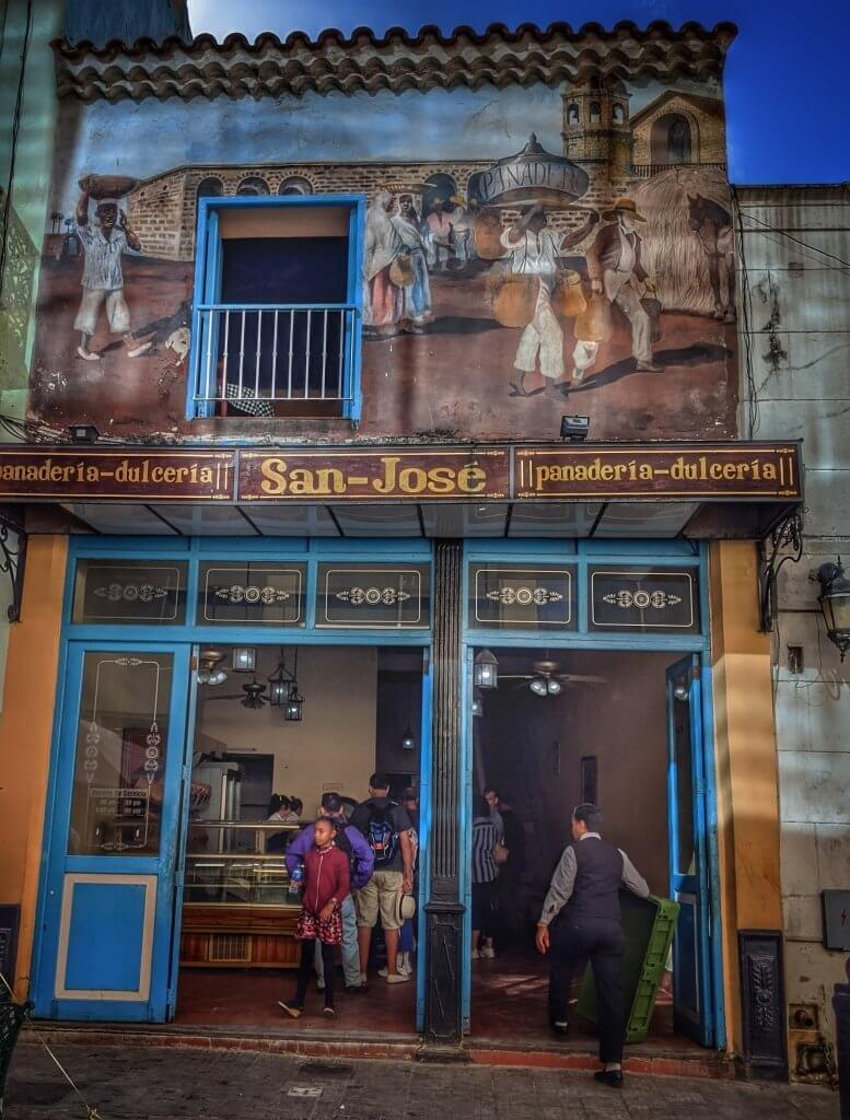 San Jose Bakery Havana Cuba Budget Backpacker