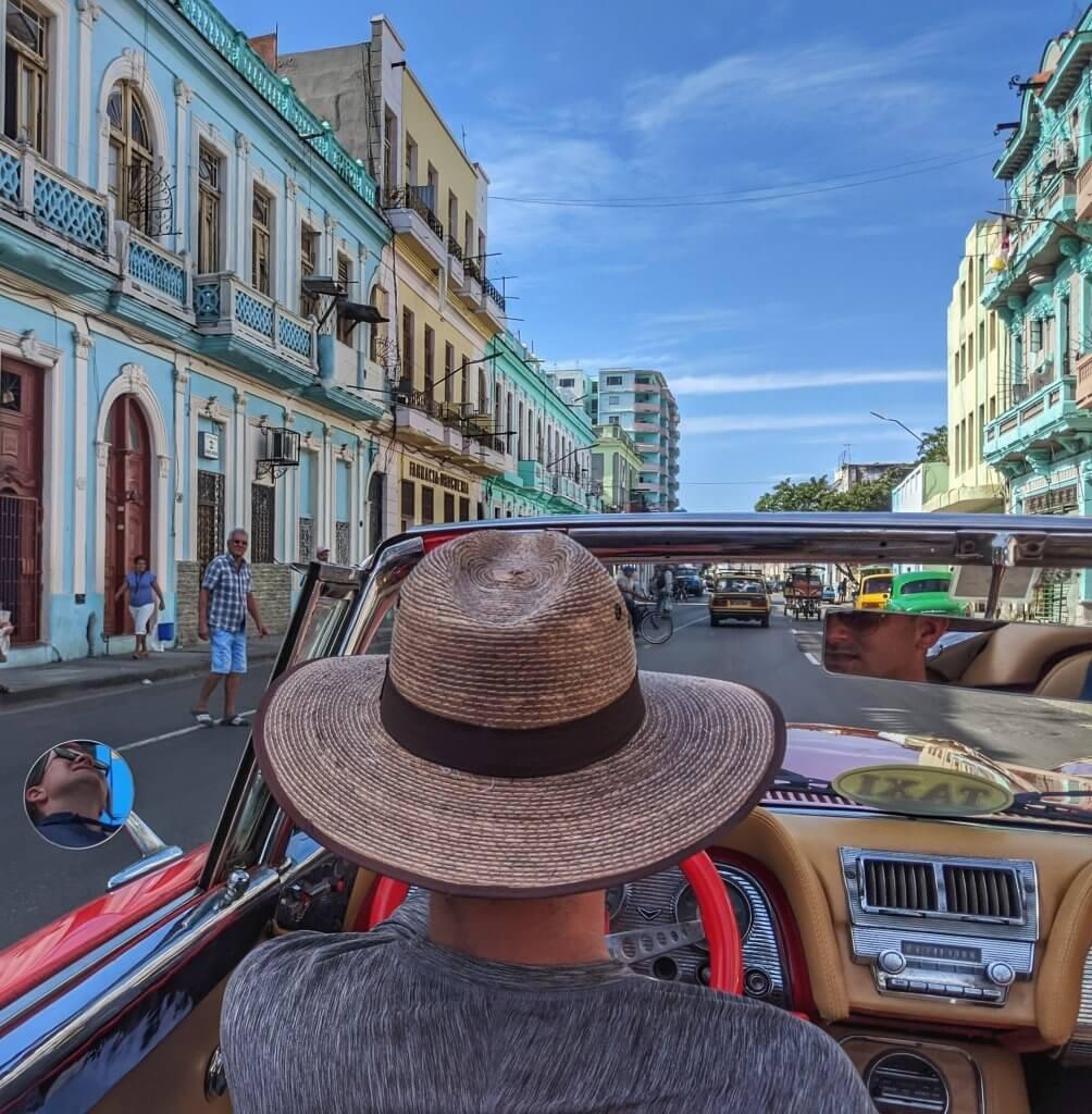 Street Car Classic Car Havana Cuba
