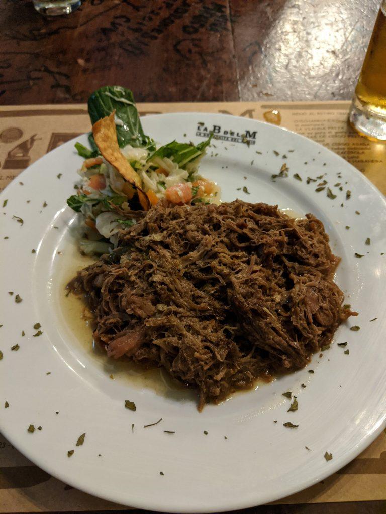 Ropa Vieja Food Havana Old Town Cuba Bodeguita del Medio