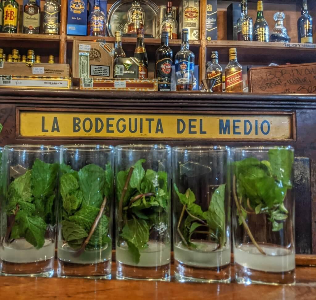 La Bodeguita Del Medio Havana Cuba Mojito