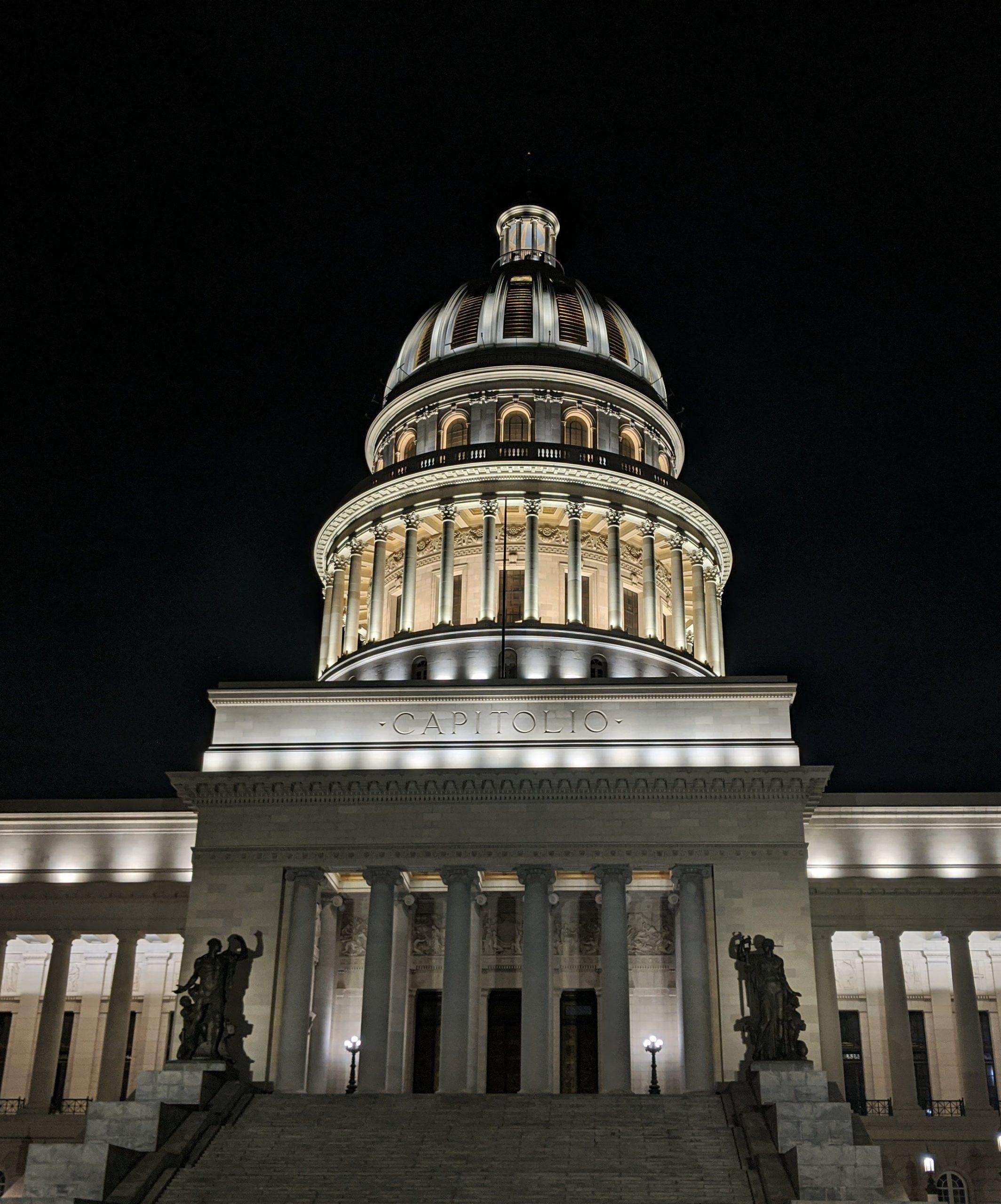 El Capitolio National Capitol building Havana Cuba