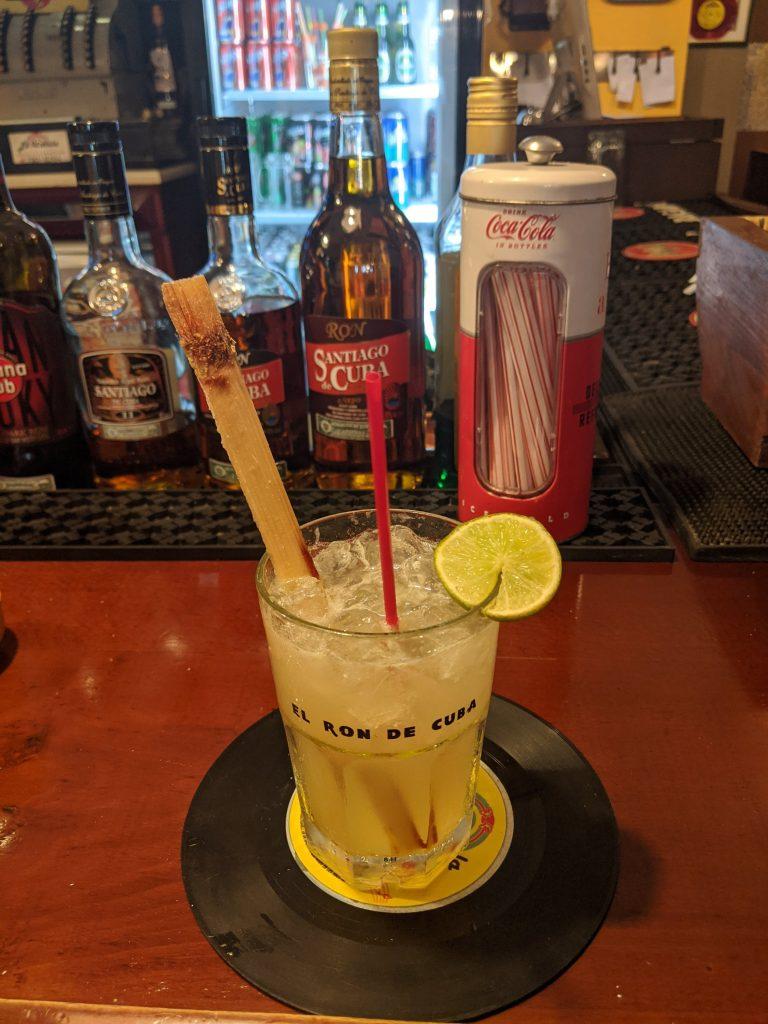 Canchanchara Cocktail Famous Cuba Havana