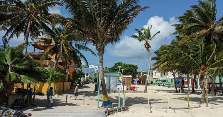 Getting from Tulum to Caye Caulker; the cheap/stupid option!