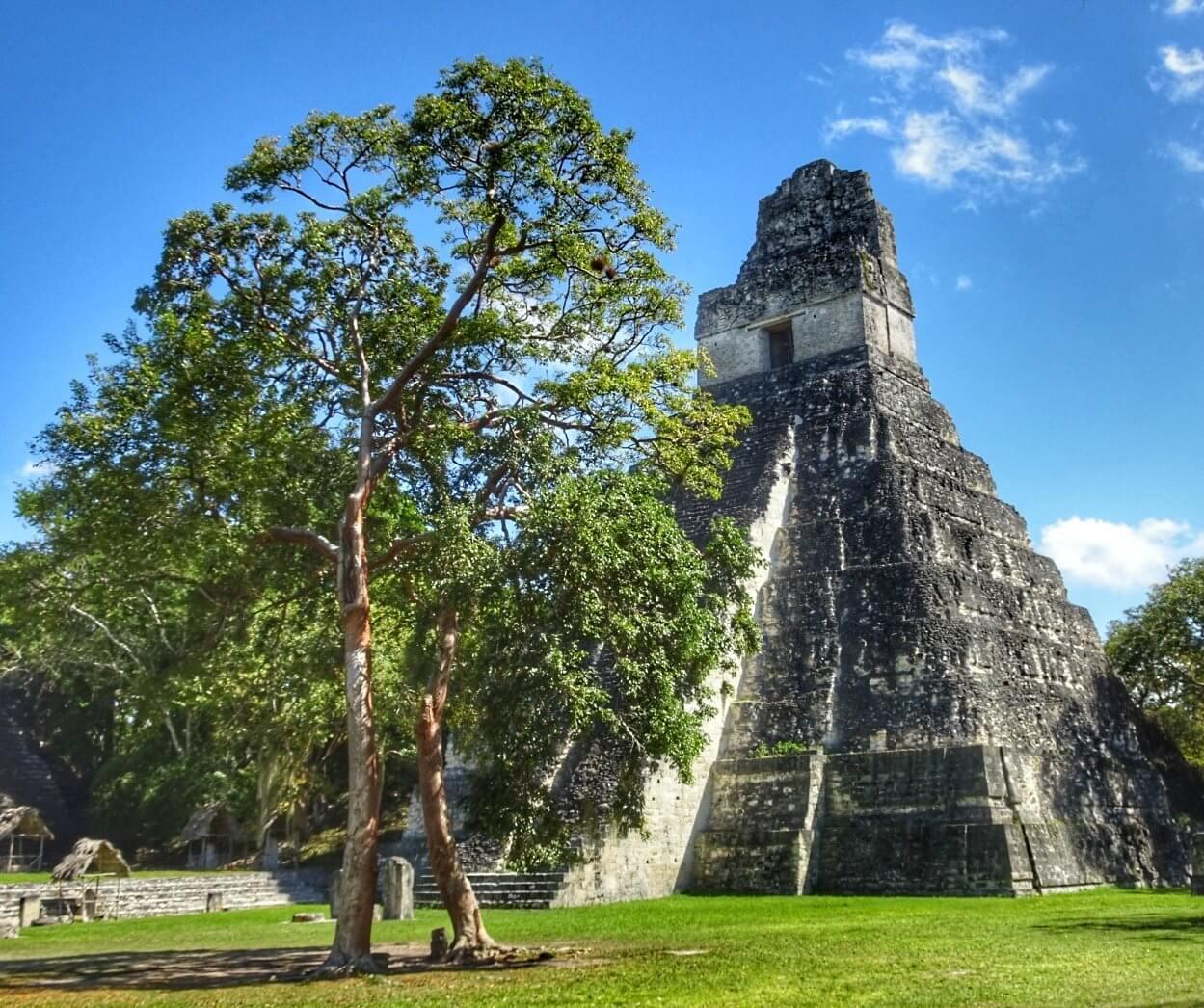 Tikal ancient ruins Guatemala