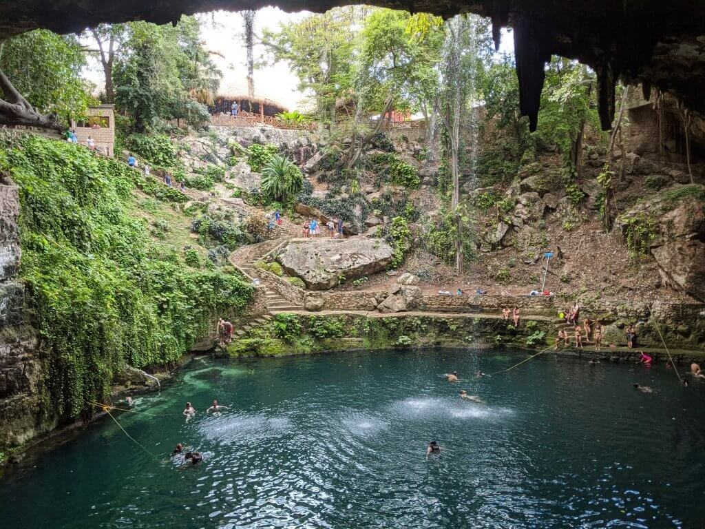 Cenote Zaci Valladolid cheap cenotes to visit in Mexico